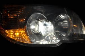 projector headlight housing