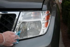 headlight restoration kit tutorial