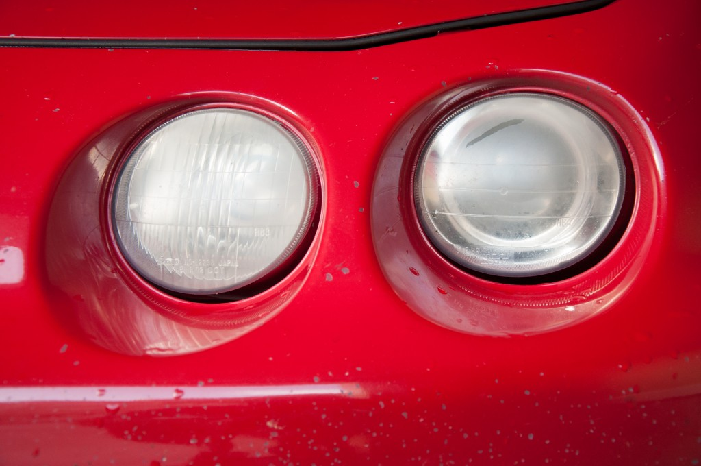 Headlights Pre-Restoration