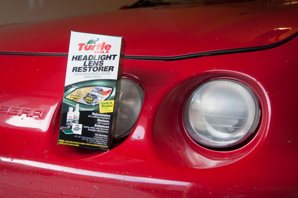 Turtle Wax Headlight Restoration Kit