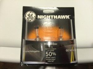 GE Nighthawk Headlight Bulbs