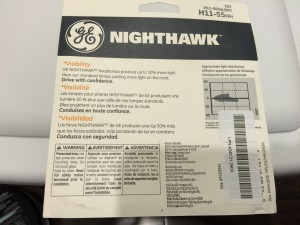 GE Nighthawk Headlight Installation Instructions