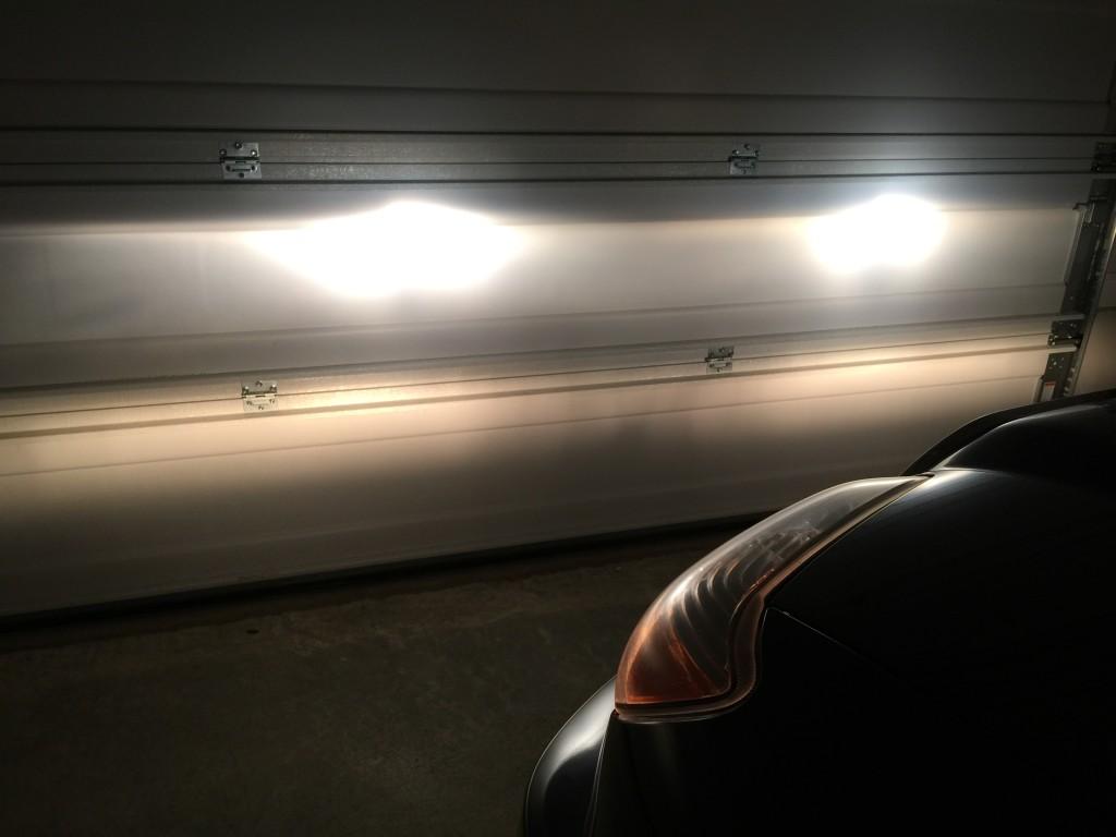 Installed GE Nighthawk Headlights