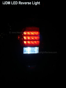 iJDM LED Reverse Light Close Up