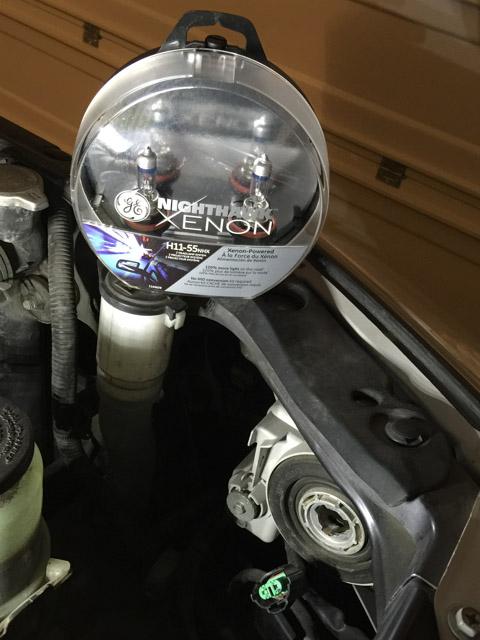GE Nighthawk Xenon Headlight