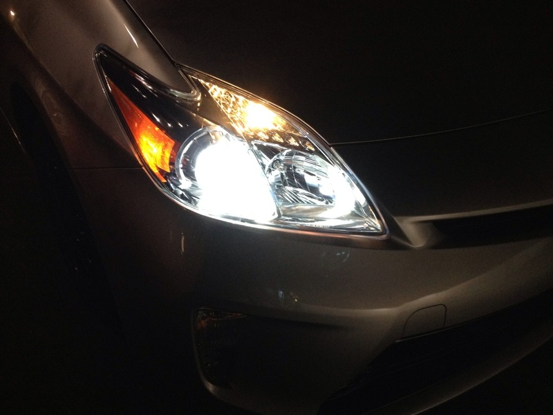 prius with hids installed