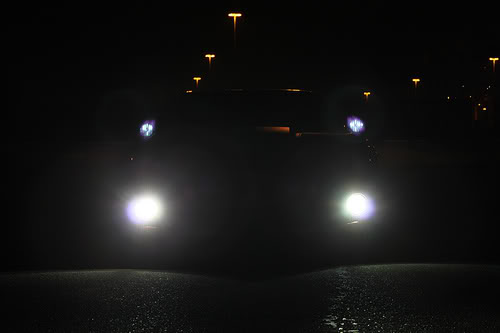 13 fog lights on