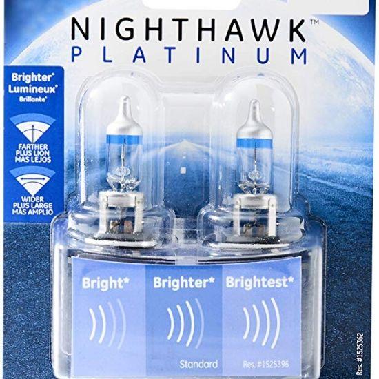 GE Nighthawk Platinum Halogen headlights Bulb