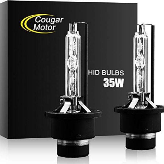 CougarMotor HID Xenon Headlight Bulbs
