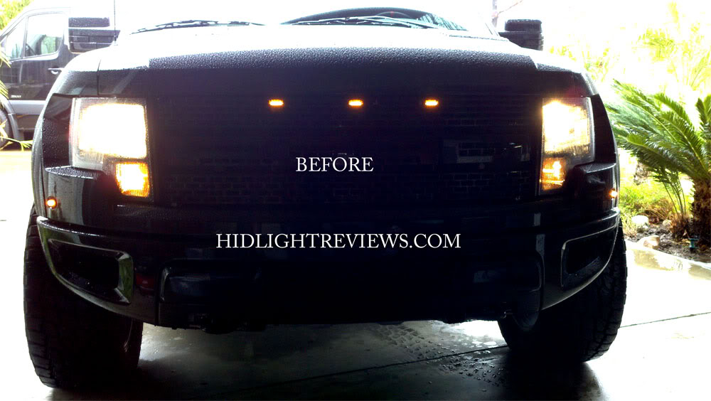 Ford Raptor HID Install