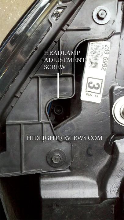 ford raptor headlight adjustment