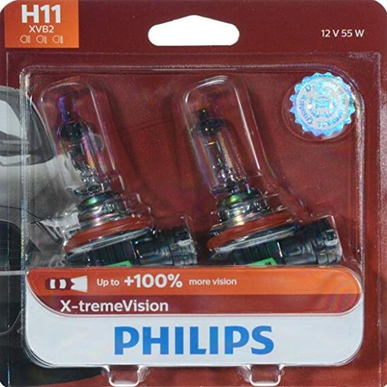 Philips H11 X-tremeVision Upgrade Headlight Bulb