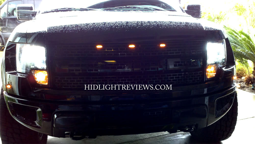 power the hid lights
