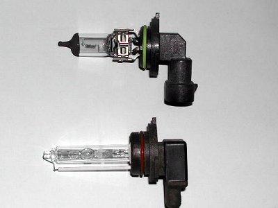 hid bulb vs halogen bulb