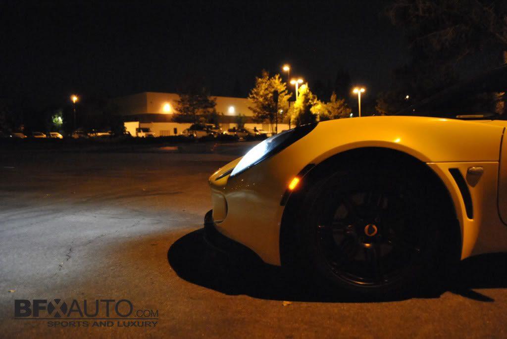 lotus exige side shot headlights