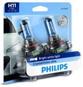 Philips H11 halogen headlight bulb