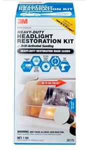 3M Heavy Duty Headlight Restoration Kit, 39175